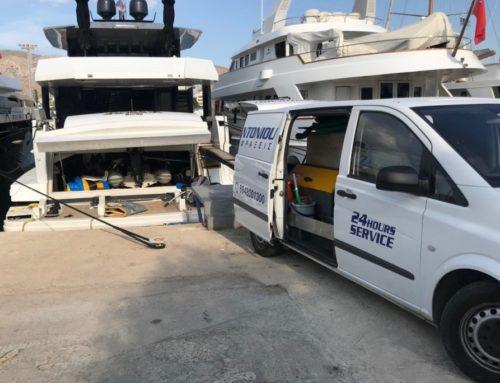 Αποφράξεις πλοίων και τα υδραυλικά τους συστήματα